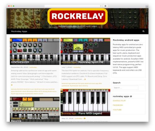 Latest WordPress theme free download - rockrelay.com