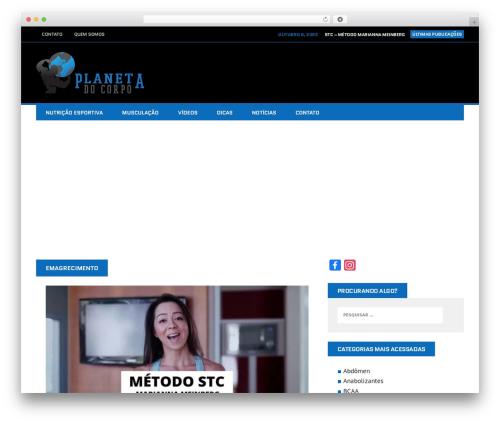 MH Squared template WordPress - planetadocorpo.com