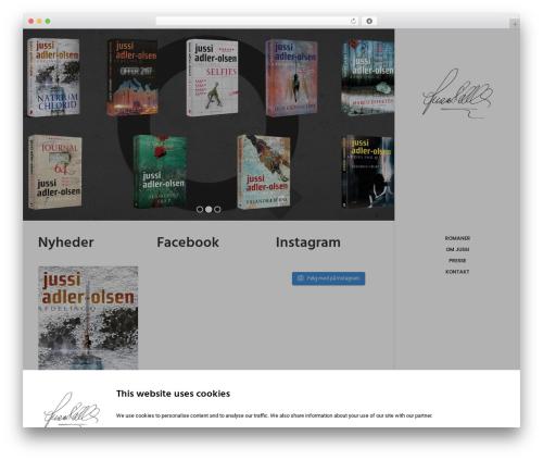 WordPress template Uncode - jussiadlerolsen.dk
