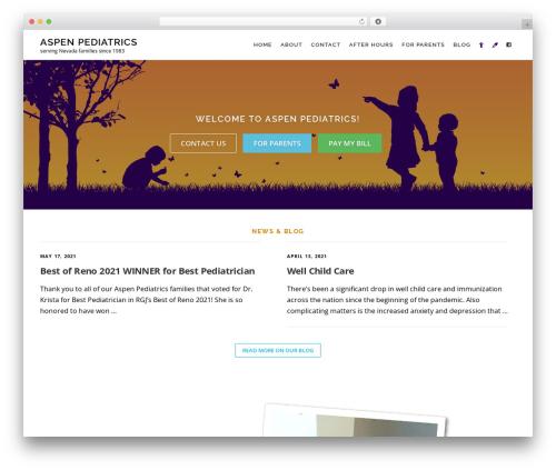 WordPress cff-masonry plugin - aspenpediatrics.net