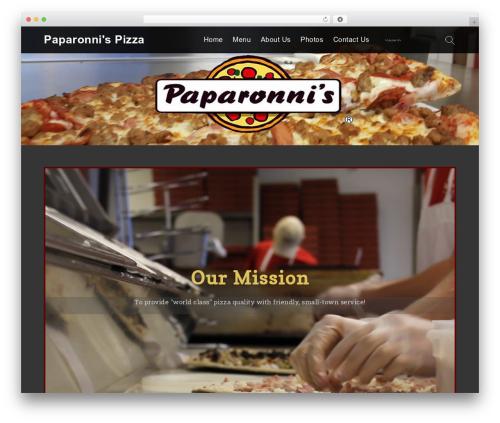 Services WordPress theme - paparonnis.com