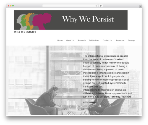 Template WordPress Mins - whywepersist.com