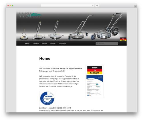 Twenty Eleven WordPress free download - wsi-innovation.com