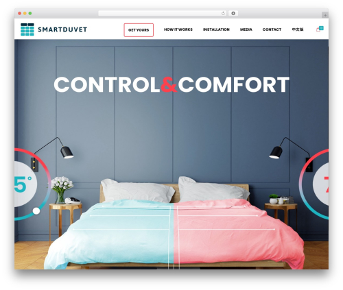 WP template Shopscape - smartduvet.com