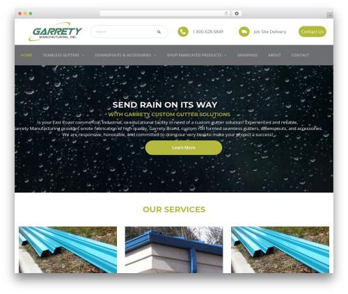 Best WordPress template TheBuilt - garretymfg.com