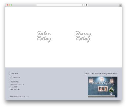 Jupiter WordPress template - salonratay.com