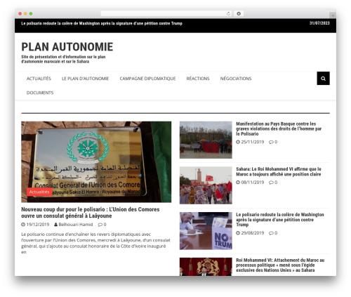 Royale News WordPress news template - plan-autonomie.com