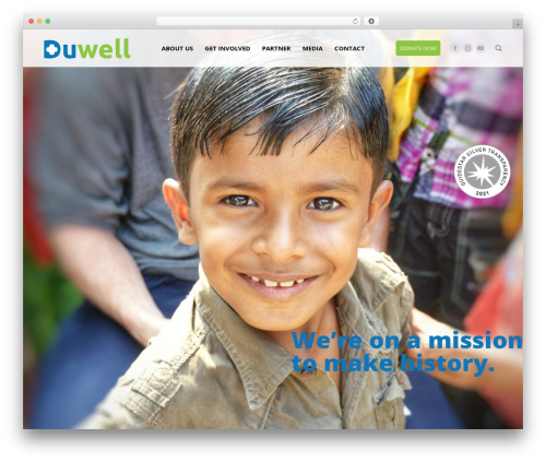 The7 best WordPress theme - duwell.org