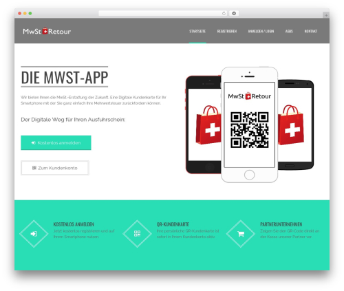 WordPress theme Applay - mwst-app.net