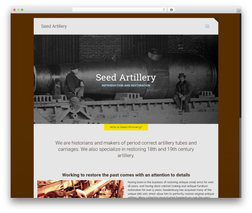 Betheme WordPress theme - seedartillery.com