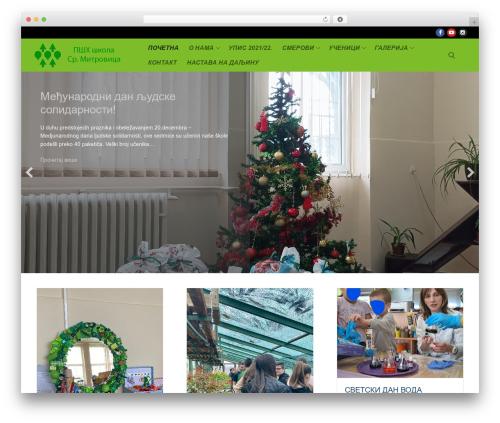 Customify WordPress theme - psh-skola.edu.rs