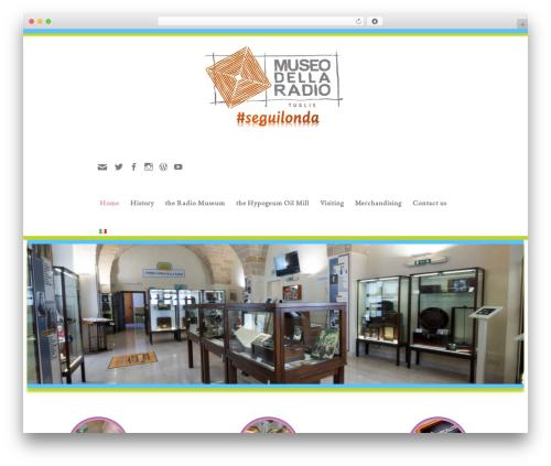 customizr-child WordPress page template - museoradiotuglie.it