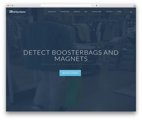 Rayko WordPress theme - alertsystems.dk