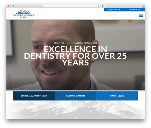 Shaggy Rogers best WordPress template - cheyennemountaindental.com