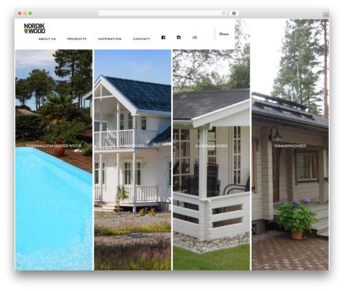 Theme WordPress Domik - nordikwood.ee