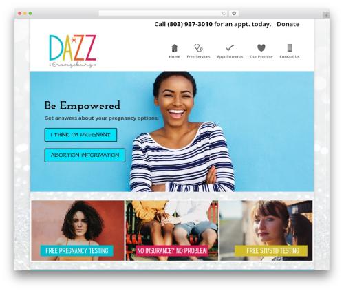 WordPress theme Divi - dazzorangeburg.com