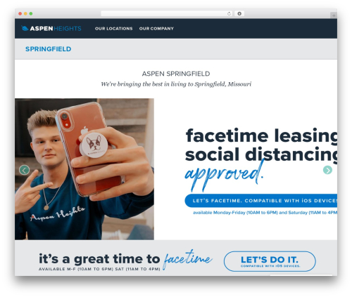 WordPress amazing-hover-effects-pro plugin - myaspenheights.com/our-locations/springfield
