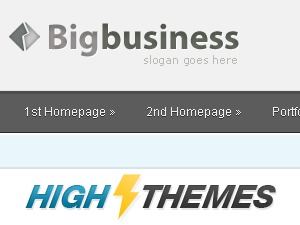 BigBusiness theme WordPress portfolio