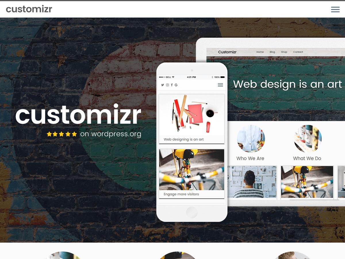 child-customizr WordPress theme