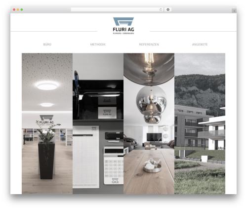 Free WordPress WP Swiper plugin - fluriag-planung.ch