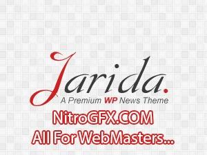 Jarida (NitroGFX.COM - All For WebMasters... ) WordPress magazine theme