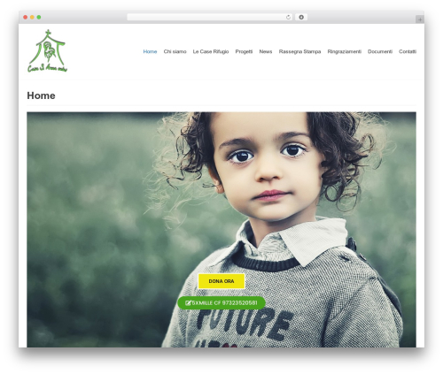 neve theme WordPress - casarifugiosantanna.it