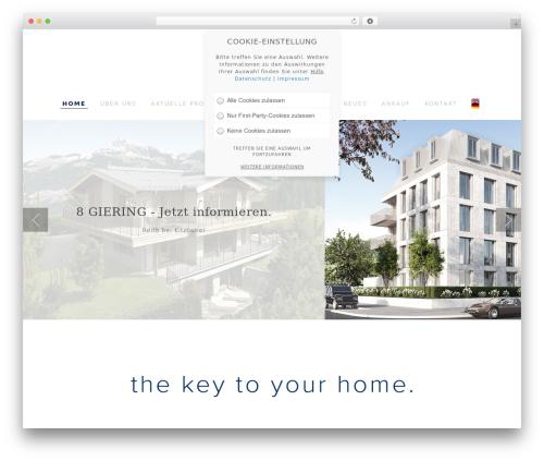 Specular top WordPress theme - m-concept.de