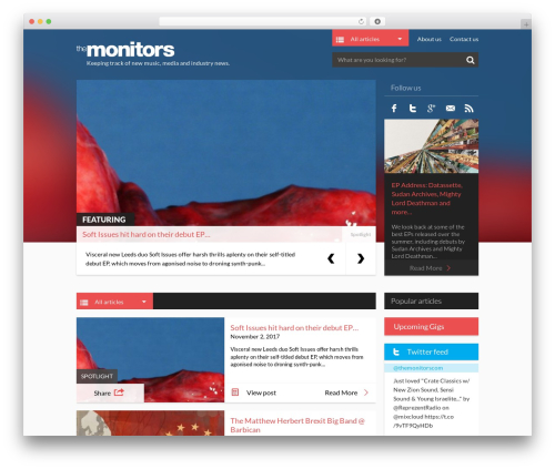 Free WordPress Single Latest Posts Lite plugin - the-monitors.com