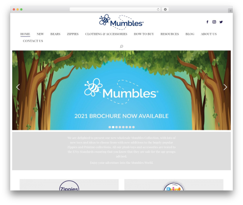 The7 WordPress page template - the-mumbles.co.uk