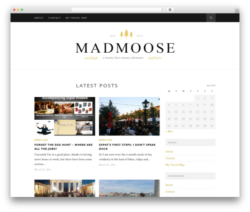 Theme WordPress Hemlock (shared on wplocker.com) - madmoose.im