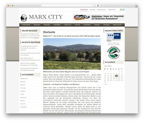 Theme WordPress Relax - marx-city.de