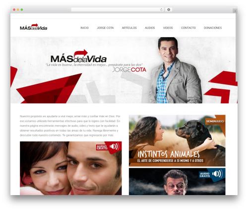Theme WordPress Satellite7 - masdelavida.com