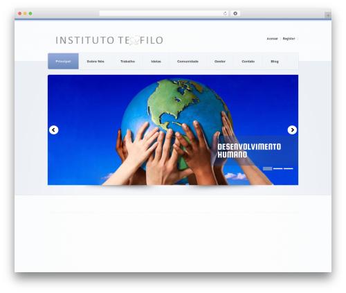 WordPress website template theme1626 - teofilo.com.br
