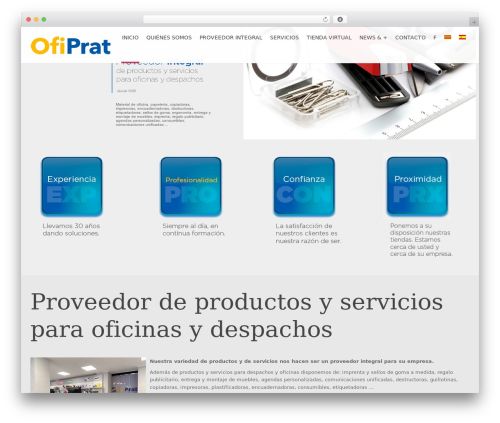 Applay WordPress theme - ofiprat.com