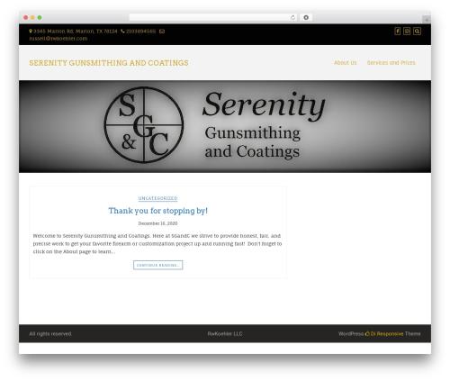 Di Responsive WordPress theme - sgandc.com