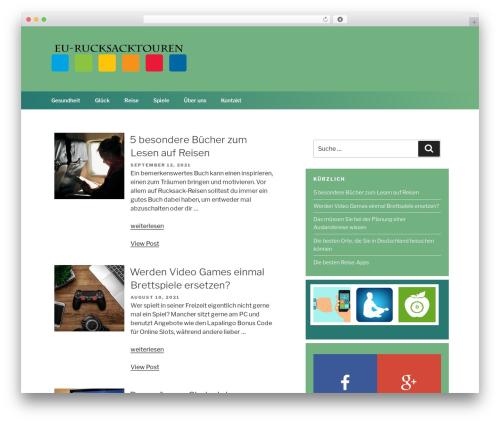 Chandigarh best free WordPress theme - eu-rucksacktouren.de
