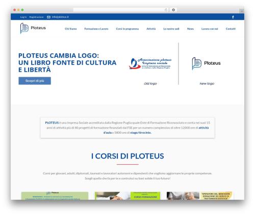 Jupiter top WordPress theme - ploteus.it