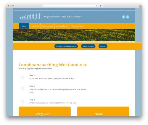 Enfold WordPress page template - blijmetjewerk.nl