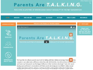 Parents Are Talking best WordPress template