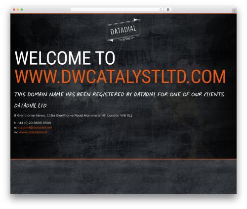 Theme WordPress Prima by datadial - dwcatalystltd.com