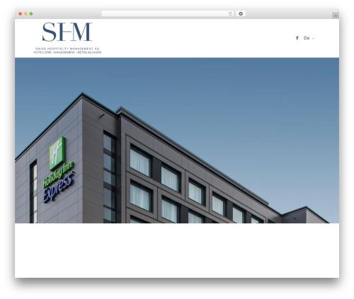 Theme WordPress Revolution - shm-ag.com