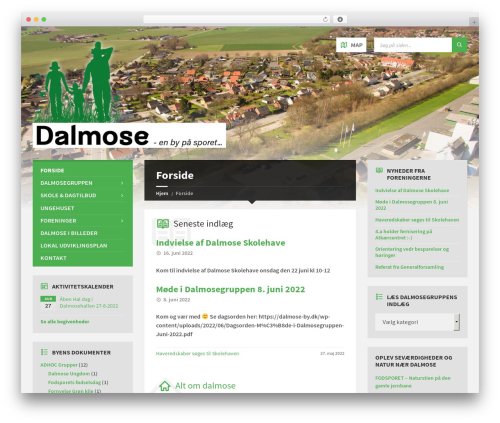 TownPress WordPress page template - dalmose-by.dk