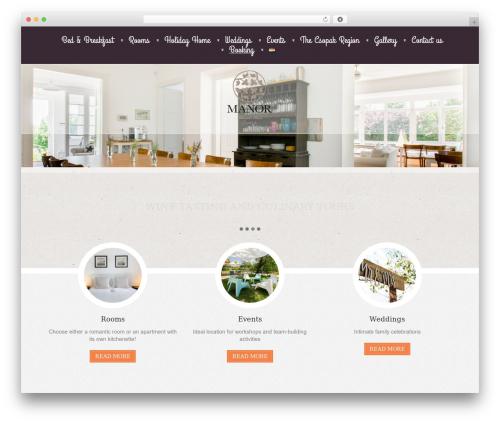 WordPress template Klasik - manor.hu