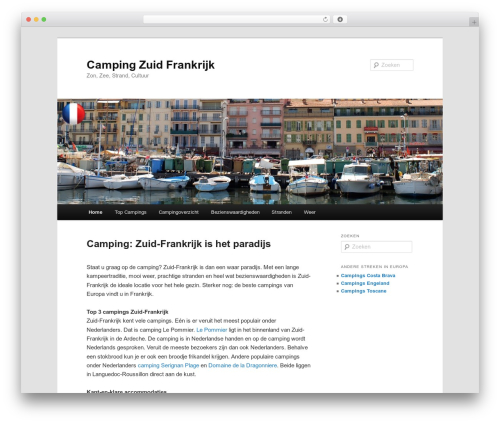 Twenty Eleven WordPress template free download - campingzuidfrankrijk.info