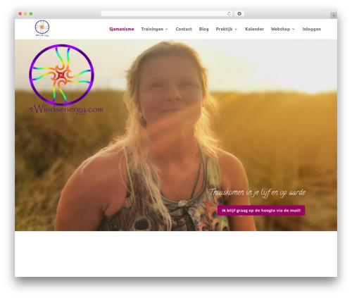 Divi top WordPress theme - 4windsenergy.com