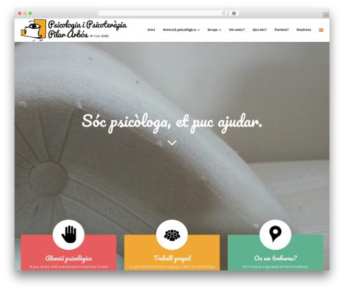 Magicreche theme WordPress - psicologaigualada.com/home