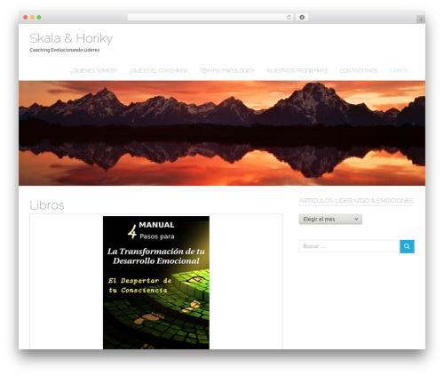 Poseidon WordPress theme download - coachingtalento.com