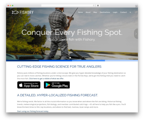 Theme WordPress Enfold - fishory.com