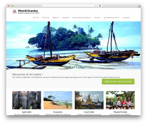 Adventurous WordPress template free download - monsrilanka.com
