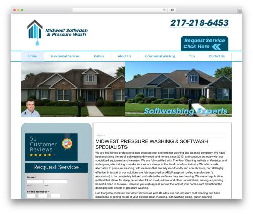 Footbridge theme WordPress - midwestsoftwash.com